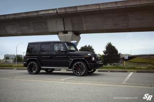 Mercedes-AMG G63 Widestar by Brabus & SR Auto Group 2020 года