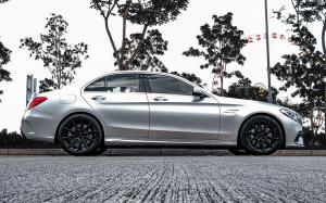 Mercedes-AMG C63 on ADV.1 Wheels (ADV5.0 FLOWSPEC) 2020 года