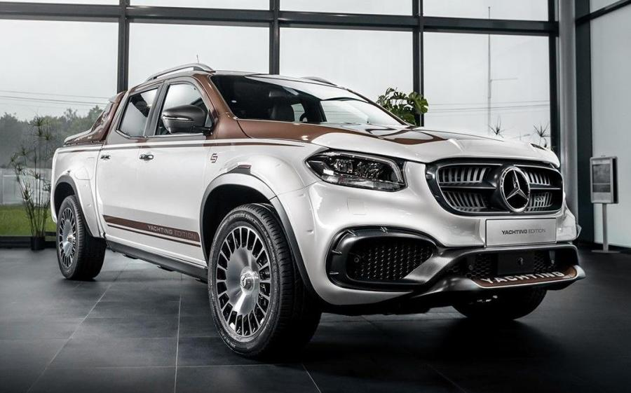 Mercedes-Benz X-Class Exy Yachting by Carlex Design '2020