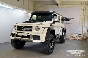 2016 Mercedes-Benz G500 4x4² in Yellow by Brabus and Elite Motors