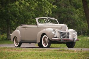 1939 Mercury Eight Convertible