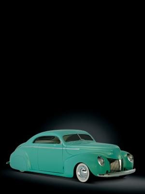 1940 Mercury Custom Coupe by Rick Dore
