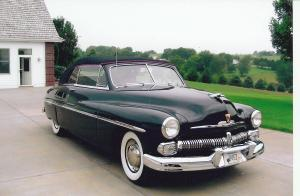 Mercury Convertible 1950 года