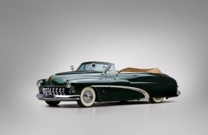 1950 Mercury Custom Convertible Coupe