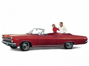 Mercury Comet Caliente Convertible 1965 года