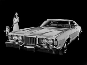 Mercury Cougar XR-7 1974 года