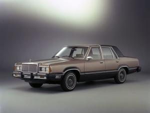 1981 Mercury Cougar Sedan
