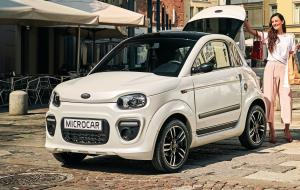 2019 Microcar Due Plus Pack Design