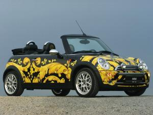 Mini Cooper Cabrio by Donatella Versace 2005 года