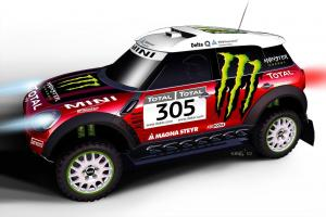 Mini Cooper Countryman All4 Dakar 2010 года