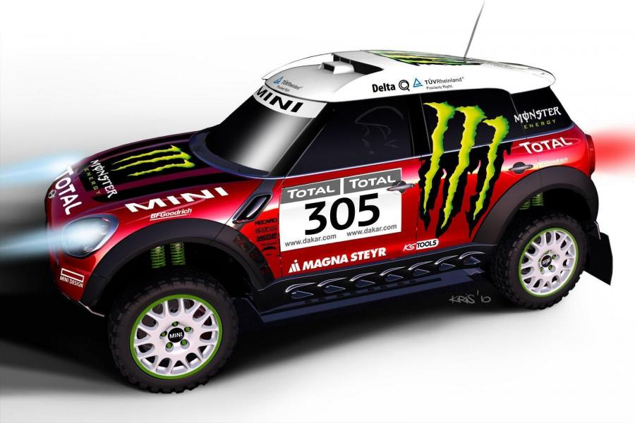 Mini Cooper Countryman All4 Dakar '2010
