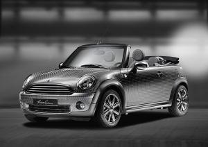 Mini One Life Ball Cabrio Designed by Kenneth Cole 2010 года