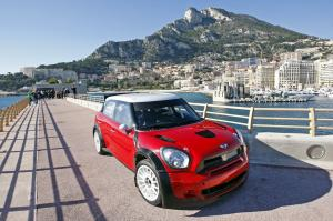 2011 Mini Cooper Countryman JCW WRC in Monte Carlo