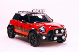 2011 Mini Cooper S Red Mudder by Dsquared