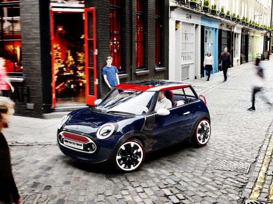 Mini Rocketman Concept London 2012 Games