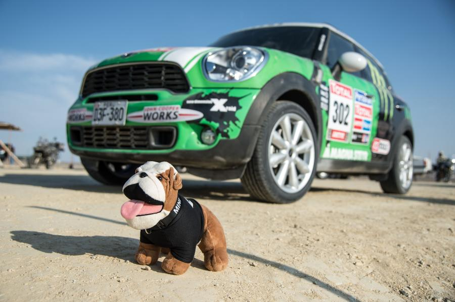 Mini Countryman Dakar rally '2013