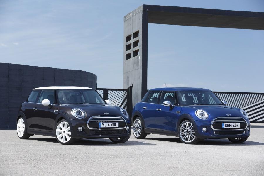 Mini Cooper D 3-Door (UK) '2014