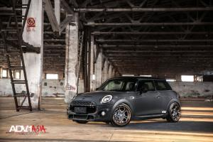 Mini Cooper S on ADV.1 Wheels (ADV05CTSCS) 2015 года