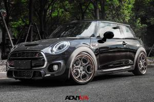 Mini Cooper S on ADV.1 Wheels (ADV05C Track Spec CS) 2015 года