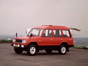 Mitsubishi Pajero Wagon High Roof I 1983 года