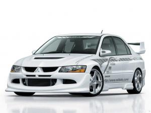 2003 Mitsubishi Lancer Evolution VIII by VeilSide