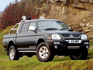 2005 Mitsubishi L200 Double Cab Warrior