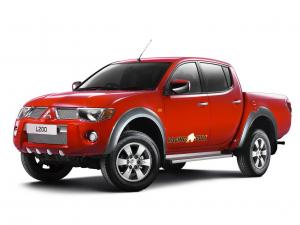 Mitsubishi L200 Double Cab Raging Bull 2007 года