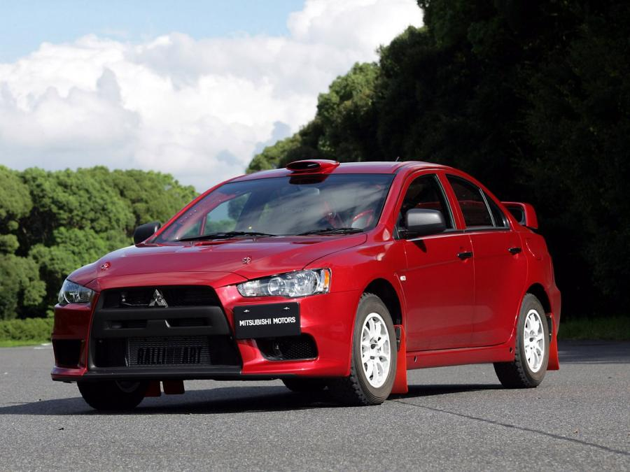2007 Mitsubishi Lancer Evolution X Group N