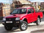 Mitsubishi L200 4Work Club Cab 2008 года (UK)