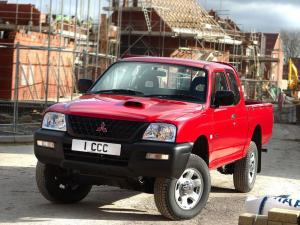 2008 Mitsubishi L200 4Work Club Cab