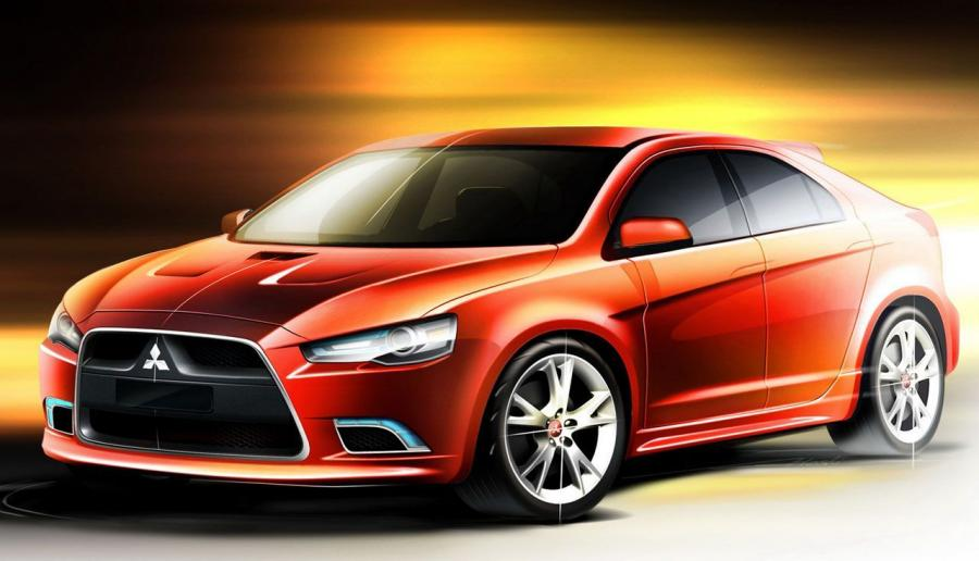 Mitsubishi Lancer Ralliart Sketches '2008