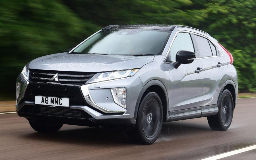 2019 Mitsubishi Eclipse Cross Black Connected (UK)