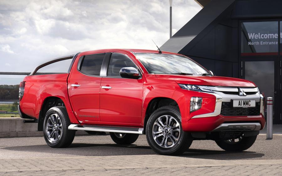 2019 Mitsubishi L200 Barbarian X Double Cab (UK)