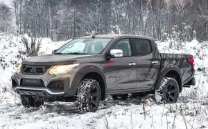 Mitsubishi L200 Lusky Limited Edition by Carlex Design 2019 года