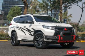 2019 Mitsubishi Pajero Sport by Permaisuri on Vossen Wheels (HF6-1)