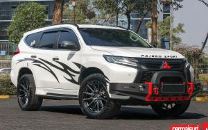 Mitsubishi Pajero Sport by Permaisuri on Vossen Wheels (HF6-1)