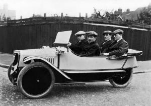 Morgan Family Runabout 1917 года