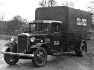 1933 Morris Commercial C-Type Lorry
