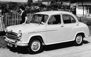 Morris Oxford Saloon 1954 года