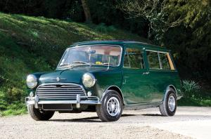 Morris Mini Traveller by Harold Radford & Co. 1961 года