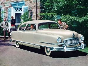 Nash Ambassador Super 2-Door Sedan 1951 года