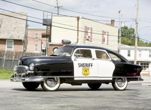 1951 Nash Statesman Super Sedan Police