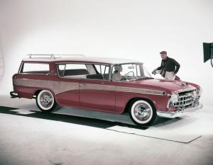 Nash Rambler Custom Hardtop Cross Country 1957 года