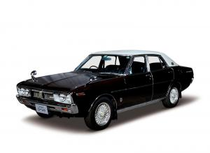 Nissan Laurel Sedan 1972 года