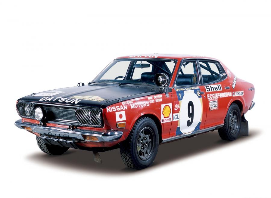 Nissan Bluebird U 1800 SSS Rally Car