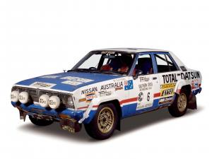 Nissan Violet rally car 1978 года