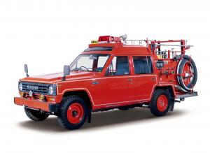 Nissan Safari Fire Engine 1980 года