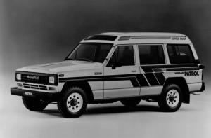 Nissan Patrol Station Wagon High Roof