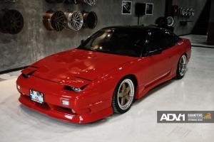 Nissan 200SX by boa Motors on ADV.1 Wheels (ADV5TF) 1993 года