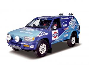 Nissan Terrano Rally Car 1995 года